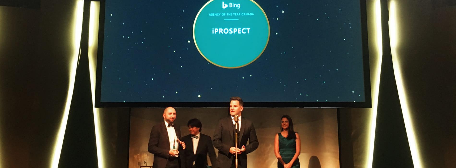 iProspect wins big at Bing Agency Awards