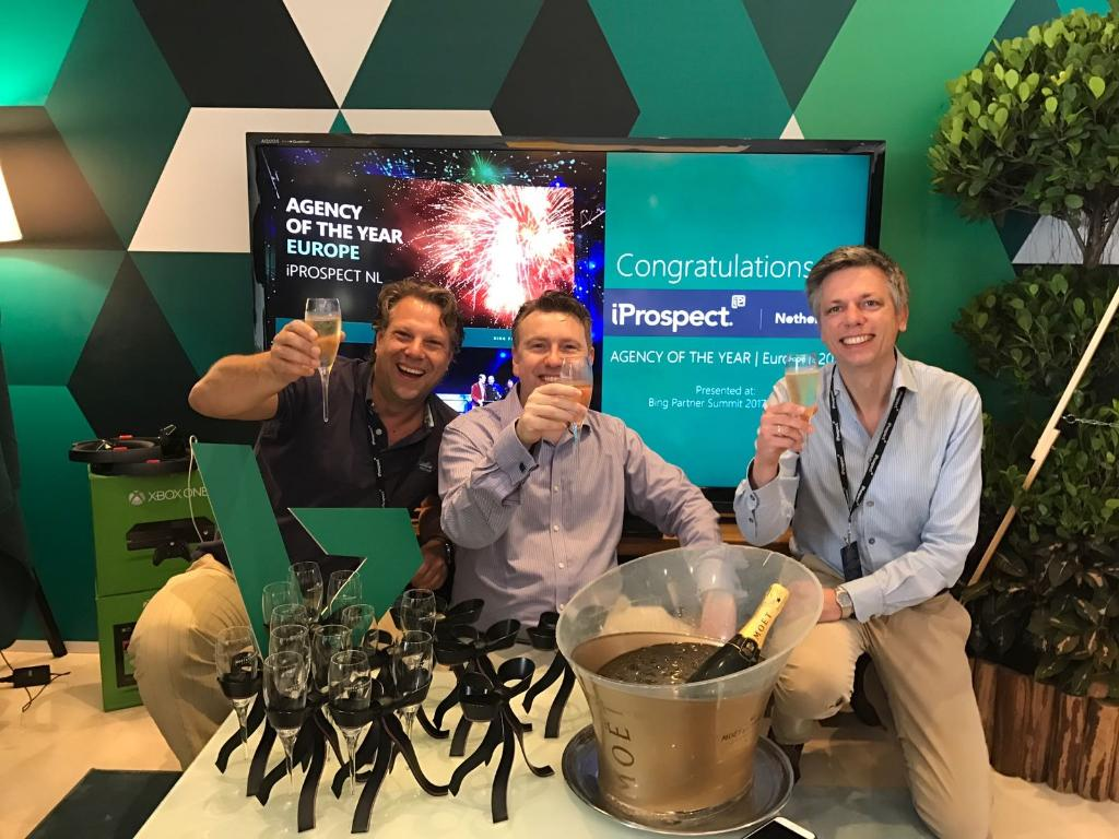 iProspect NL Awarded with European Agency of the Year by Bing