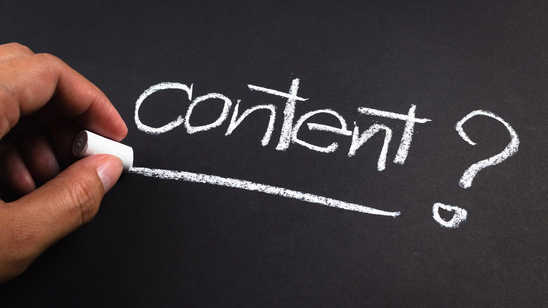 Format vs. Content or Format = Content?